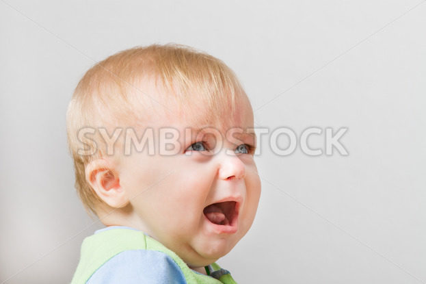 Boy looking up into space screaming – Stock Images 4 You