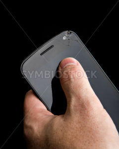 Broken screen - Stock Images 4 You