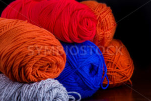 Bundles of yarn waiting to be used. - Stock Images 4 You