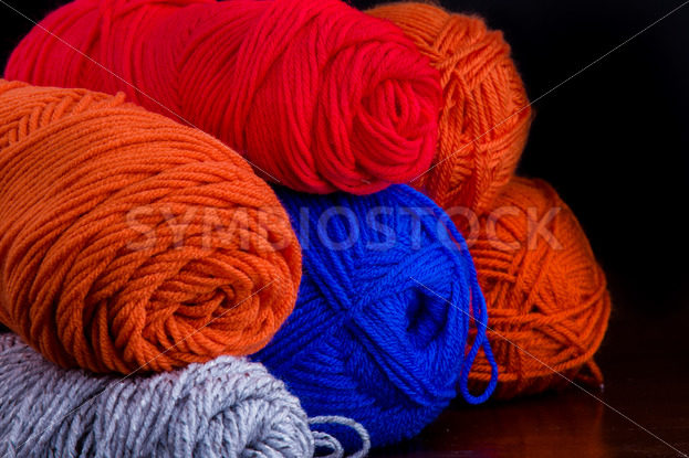 Bundles of yarn waiting to be used. – Stock Images 4 You