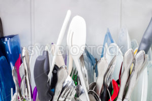 Close up view of the top of the dishes - Stock Images 4 You