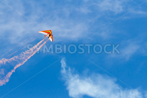Hang glider flying through the sky – Stock Images 4 You