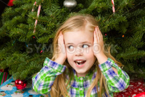 Happy little girl is excited - Stock Images 4 You