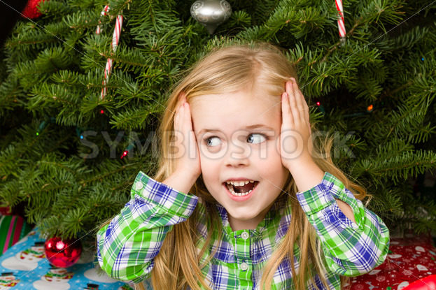 Happy little girl is excited – Stock Images 4 You
