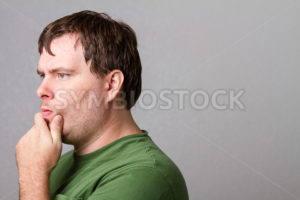 Lost in thought over a tough question - Stock Images 4 You