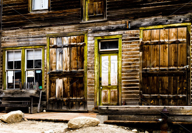 Old store front from the wild west days – Stock Images 4 You