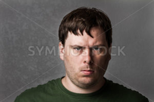 One mean looking guy about to cause problems - Stock Images 4 You
