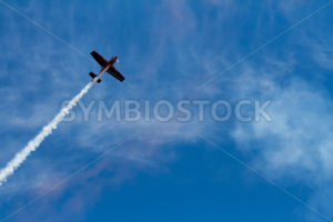 Plane flying against the sky - Stock Images 4 You
