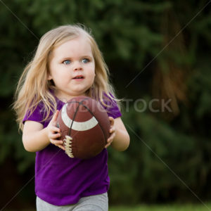 She is running for the touchdown - Stock Images 4 You