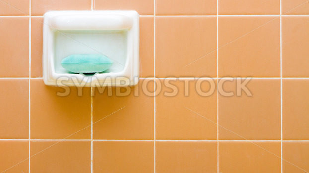 Soap the holder some tile in the bathroom – Stock Images 4 You