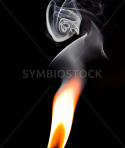 Swirls from the flame - Stock Images 4 You