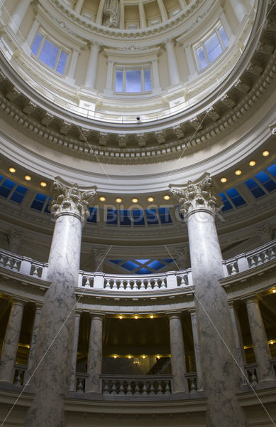 View up the pilars at the boise capital – Stock Images 4 You