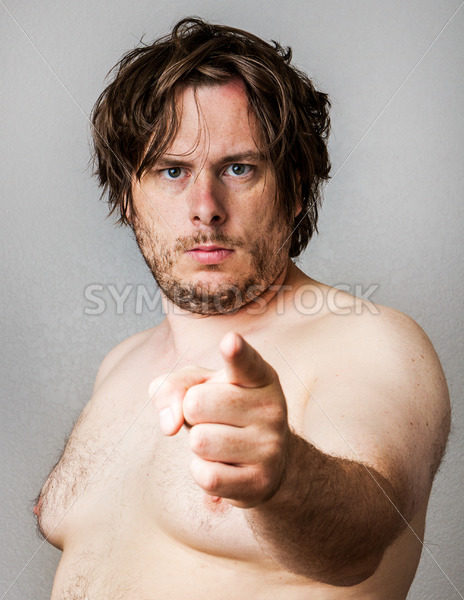 fat man pointing – Stock Images 4 You
