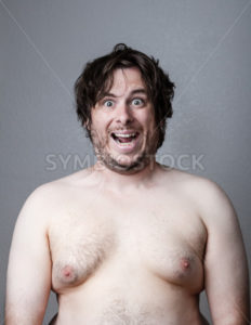 fat man smiling - Stock Images 4 You