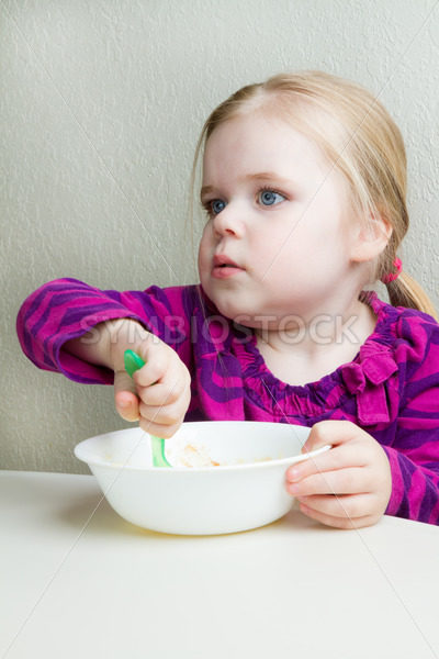 hungry little girl – Stock Images 4 You