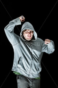 man attacking with a knife - Stock Images 4 You