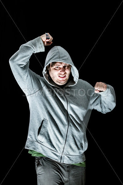 man attacking with a knife – Stock Images 4 You