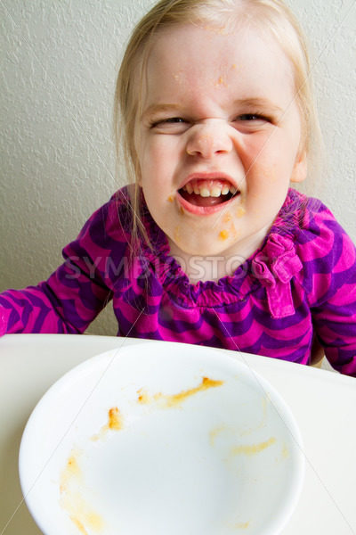 she ate it all – Stock Images 4 You