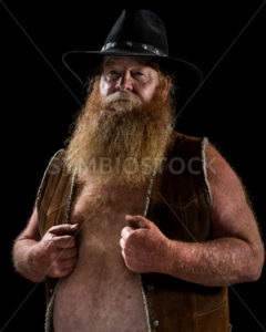 A Man holding onto his vest - Stock Images 4 You