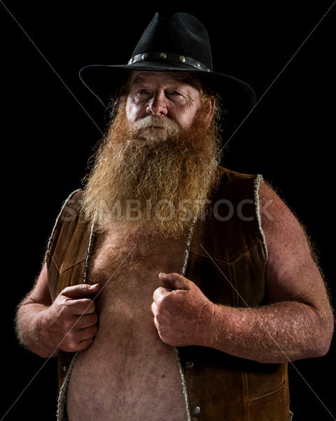 A Man holding onto his vest – Stock Images 4 You
