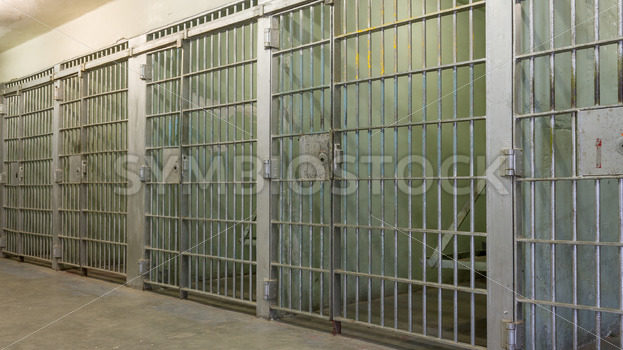 Bars of a prison with all the doors closed – Stock Images 4 You