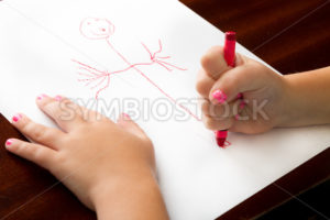 Childhood drawing at it's finest - Stock Images 4 You