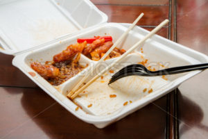 Chinese food in a takeout box - Stock Images 4 You