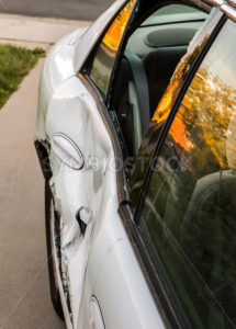 Dented up door - Stock Images 4 You