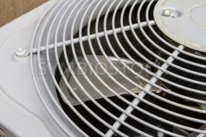 Exhaust fan of an air conditioner - Stock Images 4 You