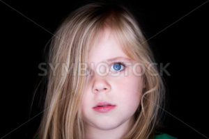Girl with messy hair - Stock Images 4 You
