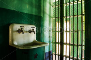 Grungy sink in a prison - Stock Images 4 You