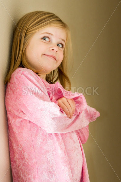 Happy proud little girl – Stock Images 4 You
