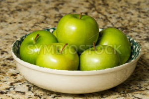 Large bowl of apples - Stock Images 4 You