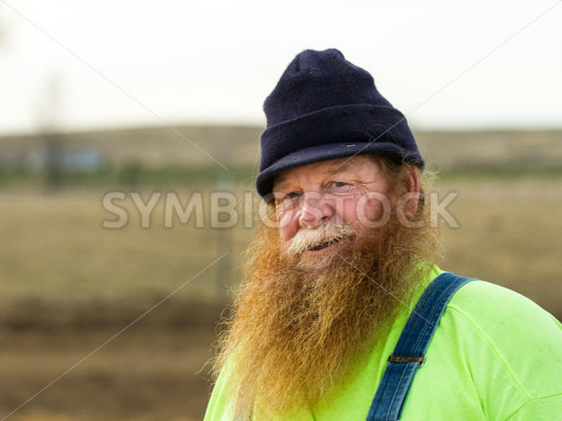 Man getting ready to tend to his farm in the morning – Stock Images 4 You