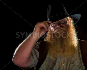 Old man and his hat - Stock Images 4 You
