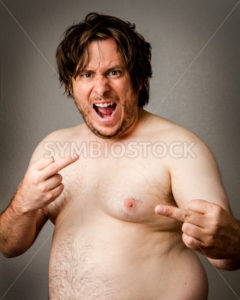 One pissed off crazy man - Stock Images 4 You