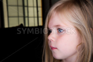 Sad little girl - Stock Images 4 You