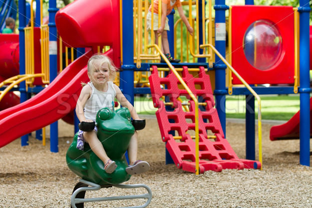 Smiling kid on the playground – Stock Images 4 You