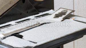 Spatula left out in the winter - Stock Images 4 You