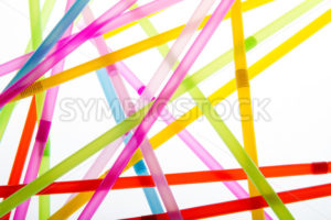 Straws in random abstract shapes - Stock Images 4 You