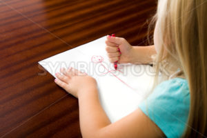 What is she drawing - Stock Images 4 You
