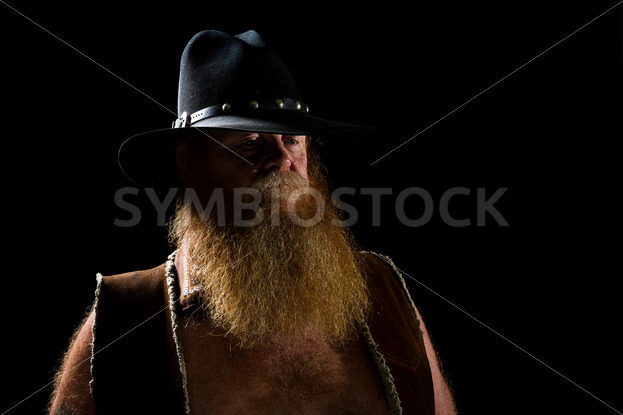 cowboy wearing a leather vest – Stock Images 4 You