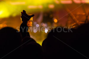 drinking at a concert - Stock Images 4 You