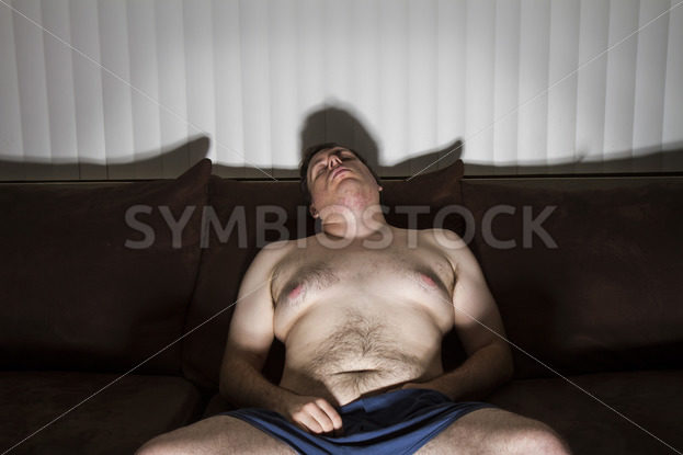 fat man has fallen asleep – Stock Images 4 You