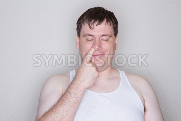 man picking his nose – Stock Images 4 You