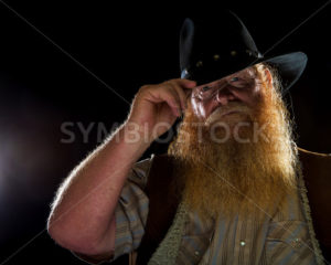 man tipping his hat - Stock Images 4 You