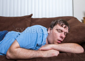 sleeping man - Stock Images 4 You