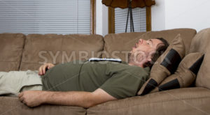 sleepy fat guy - Stock Images 4 You