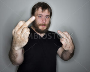 very angry man - Stock Images 4 You